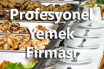 profesyonel yemek firması